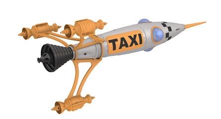 Космическая ракета - такси