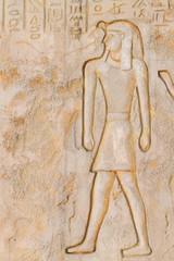 egypt engraving wall