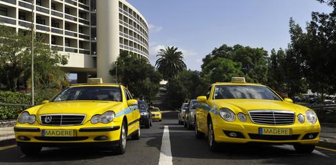 Les taxis de Madère