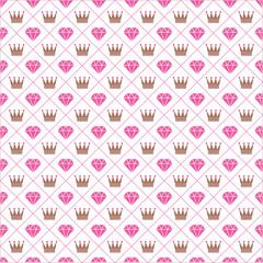 princess and kingdom seamless