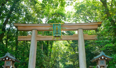 三輪山 大神神社 二の鳥居
