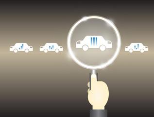 car select concept