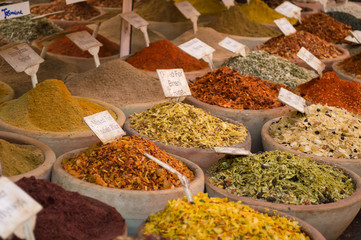 discovering new spices and dehydrated food