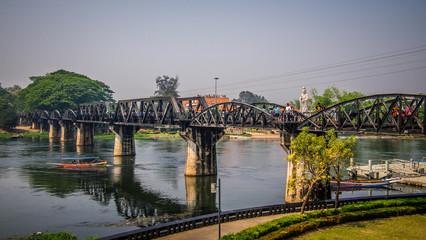 Bridge River Kwai, Kanchanaburi, Thailand