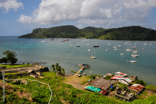 Fotobehang Centraal-Amerika Landen Portobelo port, Panama