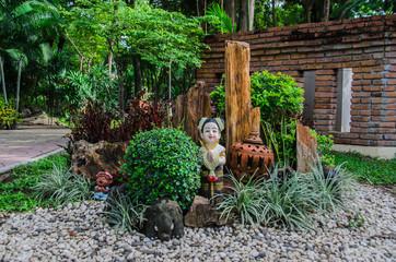 garden design of thailand sawasdee