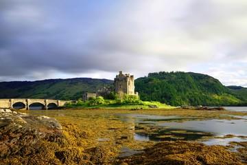 Eilian Donnan Castle at Sunset