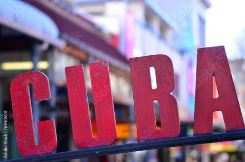Aluminium Nieuw Zeeland Cuba Street in Wellington New Zealand
