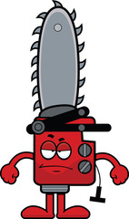 Cartoon Chainsaw Grumpy