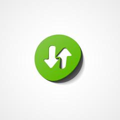 green arrow web icon
