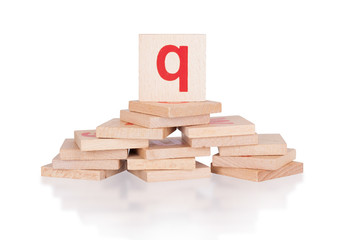 Alphabet - letter Q