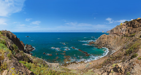 Coast in Tenerife island - Canary Spain