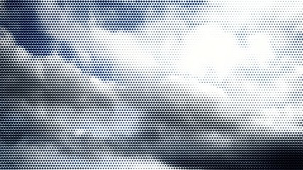 Abstract dots sky background.