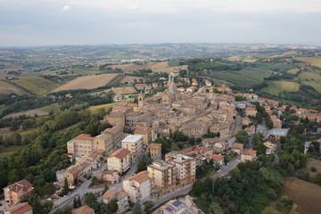 Foto aerea Ostra Vetere