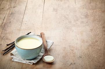 homemade vanilla sauce