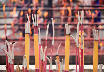 burning incenses in temple,words meaning blessing