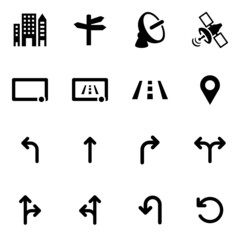 Navigation Icons Iconset Traffic