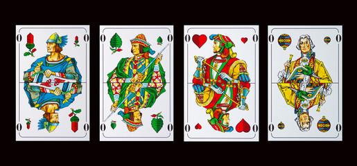 Spielkarten OBER - Schafkopf und Tarock