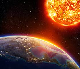 global warming in Usa