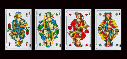 Spielkarten UNTER - Schafkopf-Skat und Tarock