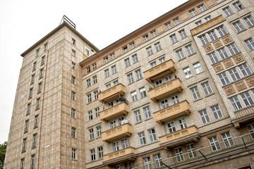 Socialist architecture on Karl Marx Allee, Berlin, Germany