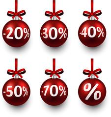 Sale christmas balls.