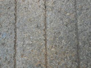 Sezione pietra consunta dal calpestio