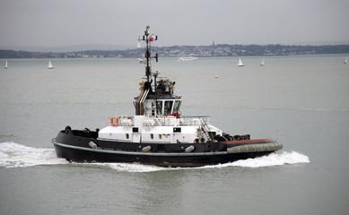 Ocean going class X1 tug underway