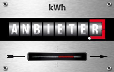 Den richtigen Stromanbieter wählen