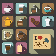 coffee and tea icon