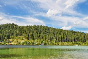 Gebirgssee in Österreich