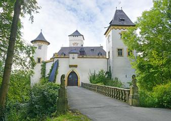 Castle Schloss Greifenstein, Fraconian Switzerland, Germany