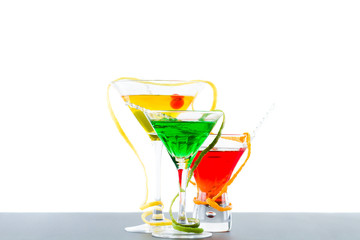 Three refreshing citrus cocktails