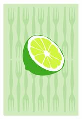 Vector of lemon
