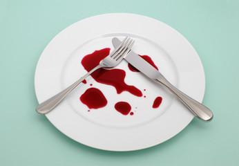 Blutige Mahlzeit