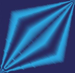 Blue effect light background vector
