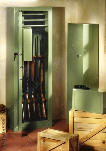 Keuken foto achterwand Jacht gun closet