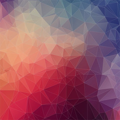 Abstract square polygonal background.