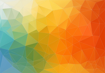 Abstract color polygonal background