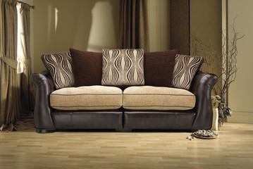 sofa in modern living room