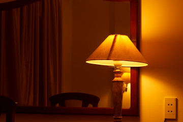 Lamps in the bedroom