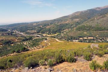 Valle dela garganta Alardos, Raso de Candeleda, España