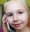 Litlle girl calling