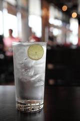 lemon soda tonic
