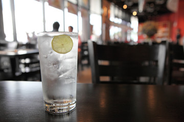 lemon soda tonic