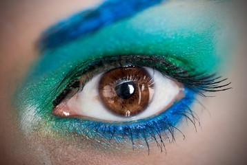 Ojos el rostro del arte