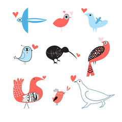lovers of birds set