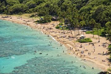 Hawaii Oahu hanauma bay view
