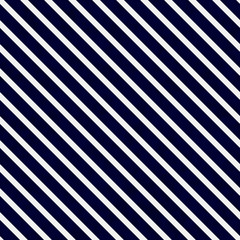 Navy Blue and White Striped Pattern Repeat Background