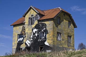 Street Art auf Gimsoy